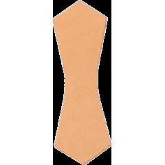 吊耳皮革片 F 2.5x10.5cm 4入