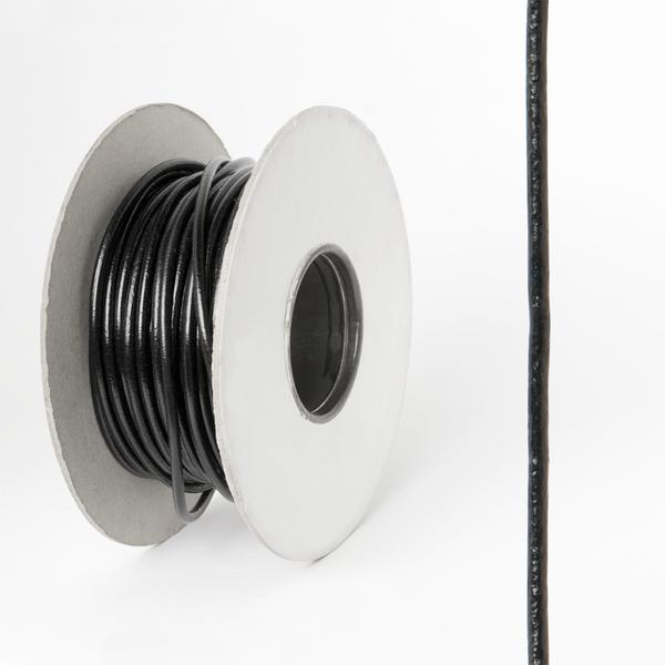 圓皮線 黑色 1.5mm