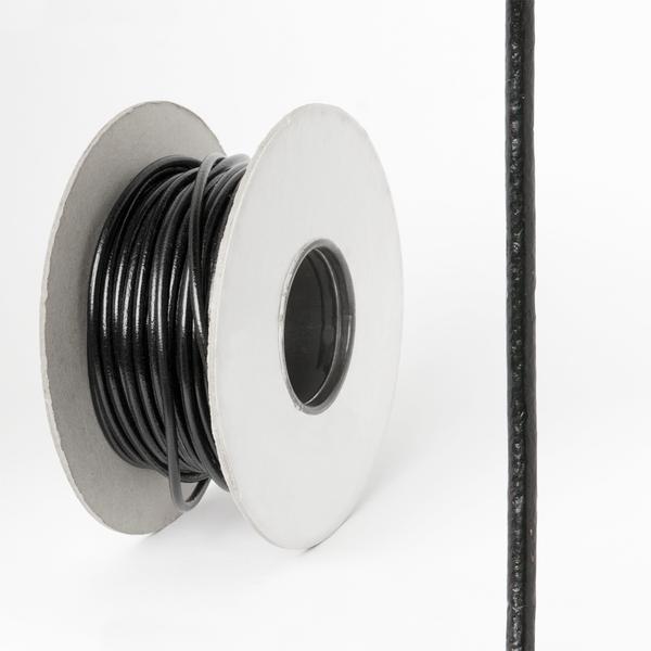 圓皮線 黑色 2.0mm