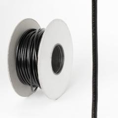 圓皮線 黑色 2.5mm