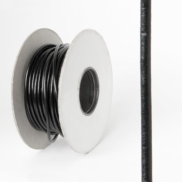 圓皮線 黑色 3.0mm