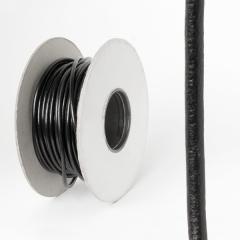 圓皮線 黑色 4.0mm