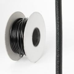 圓皮線 黑色 5.0mm