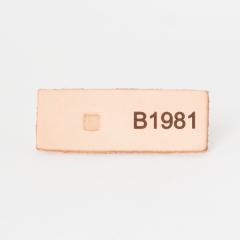日本印花工具 B198 細