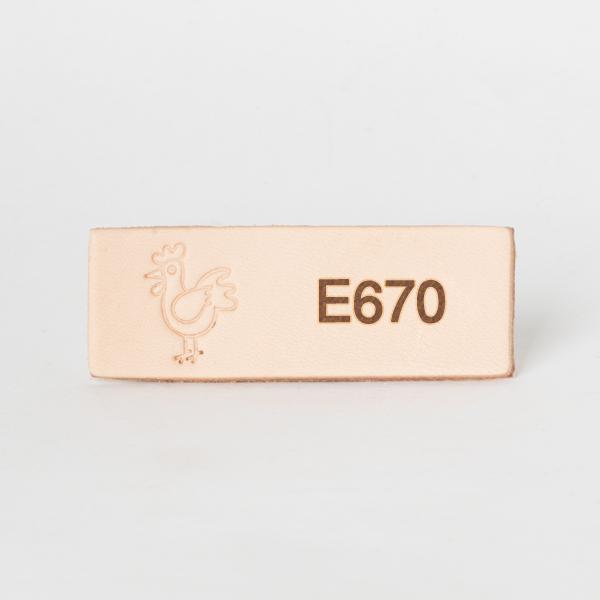 日本印花工具 E670