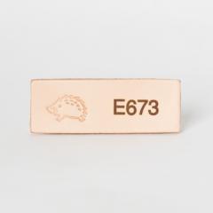 日本印花工具 E673