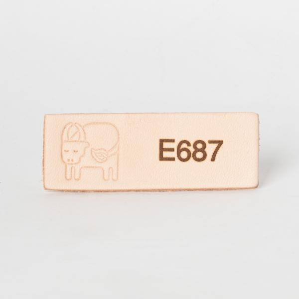 日本印花工具 E687