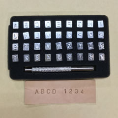 Imported Alphabet+Number Stamp Tool 6mm