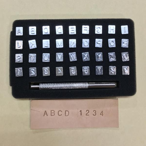 進口英文+數字字模組 高6mm