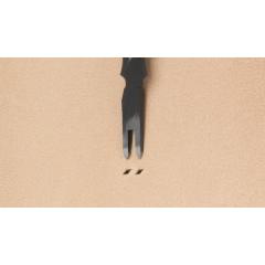 日製E 雙菱斬 孔1.5mm/間距3mm