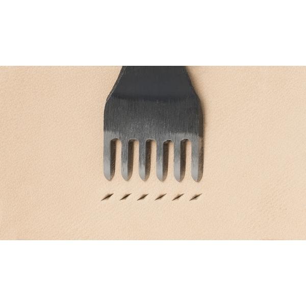 日製E 六菱斬 孔2.0mm/間距4mm
