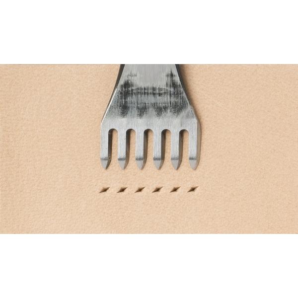 日製印地安六菱斬 孔2.0mm/間距4mm