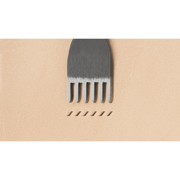 日製E歐式六斬 孔寬約1.2mm/間距3mm