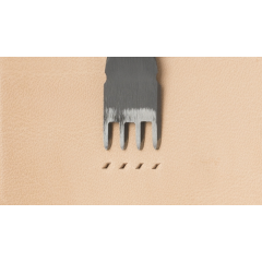 Japanese E European Style Chisel: Width 1.2mm / Pitch 4.5mm (4 prongs)