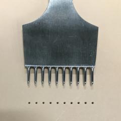 不鏽鋼十圓孔斬 1.8/3.38mm孔徑/間距(約略)