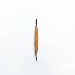 日製木柄壓叉器 大匙狀及刀狀