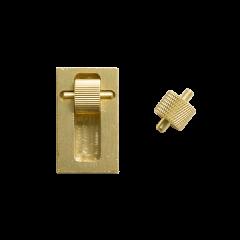銅製雙邊小邊油盒