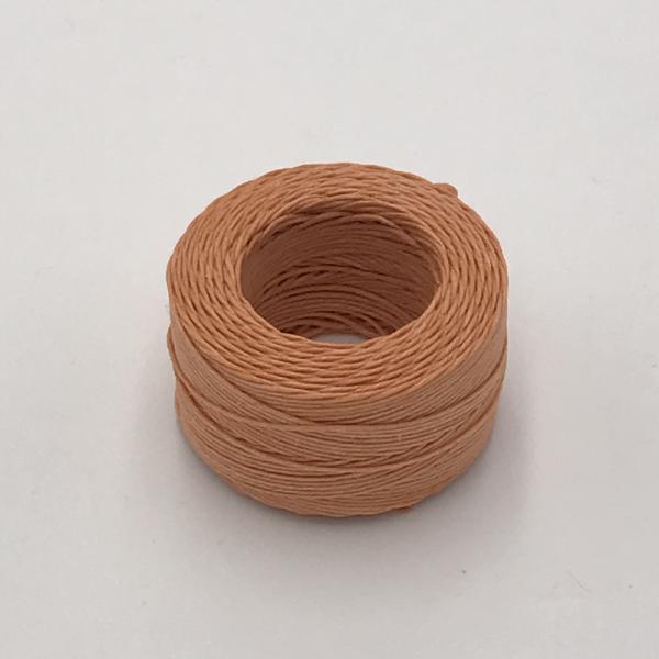 印地安手縫麻線捲 膚色 含蠟 中細 0.5mmX35m
