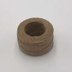Waxed Linen Thread Khaki (M) 0.5mmX35m