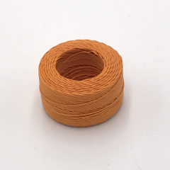Waxed Linen Thread Orange (M) 0.5mmX35m