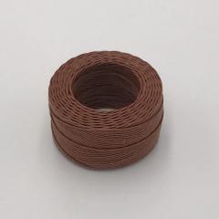手縫麻糸 タン 中型 0.5mmX35m
