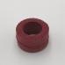 印地安手縫麻線捲 暗紅 含蠟 中細 0.5mmX35m