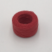 印地安手縫麻線捲 淺紅色 含蠟 中細 0.5mmX35m