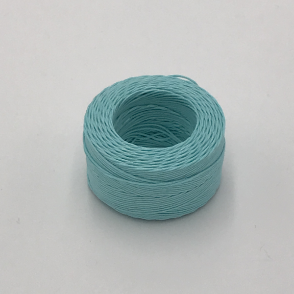 Waxed Linen Thread Light Blue (M) 0.5mmX35m