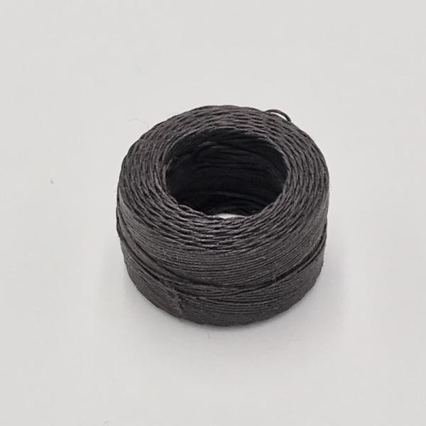 印地安手縫麻線捲 焦茶色 含蠟 中細 0.5mmX35m