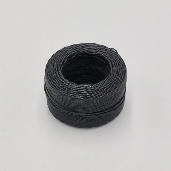 Waxed Linen Black (M) 0.5mmX35m