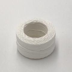 Waxed Linen Thread White (M) 0.5mmX35m