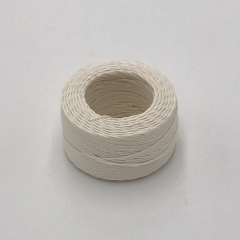 Waxed Linen Thread Beige (M) 0.5mmX35m