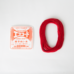 Linen Thread Red (M) 20/3 30M