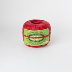 手縫麻線卷 紅 粗 16/4 350m 225g