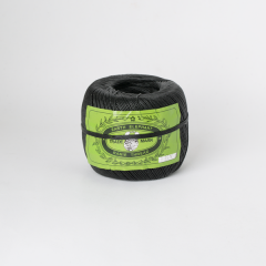 Waxed Linen Thread Spool Black Thick 16/4 350M 225G