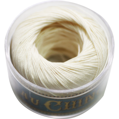 Fil Au Chinois Waxed Linen Thread S40 5#308 Ecru 0.45mmx50m