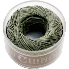 Fill Au Chinois Waxed Linen Thread S40 94#493 Khaki 0.45mmx50m