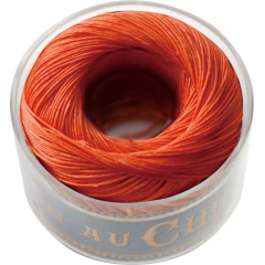 Fil Au Chinois Waxed Linen Thread S40 83#380 Tango 0.45mmx50m