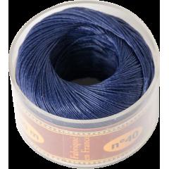 小法薩林麻臘線S40 76#678 RoyalBlue寶藍 0.45mmx50m 不二價