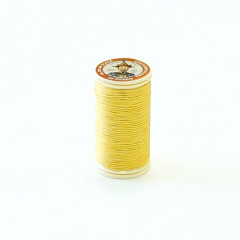 Fil Au Chinois Waxed Linen Thread #363 Yellow 0.45mmx30m