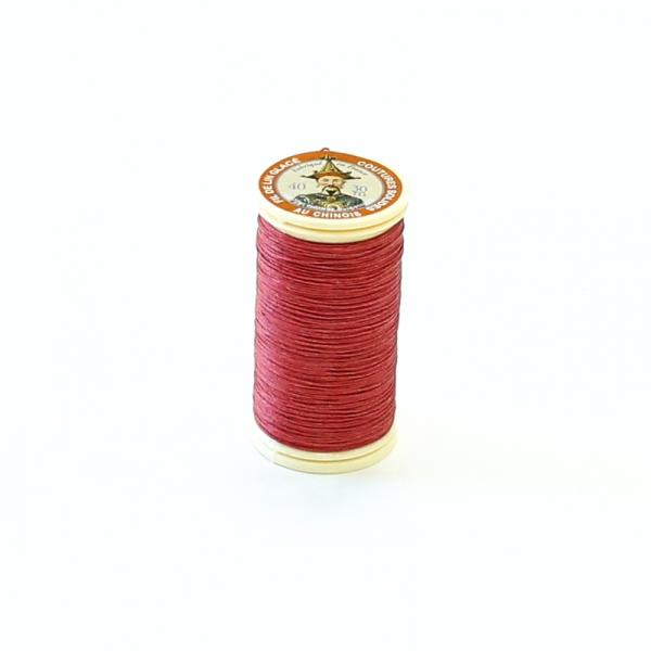 小法薩林麻臘線捲 #525 Red紅 0.45mmx30m 不二價