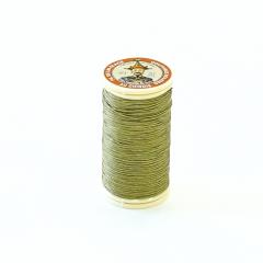 Fil Au Chinois Waxed Linen Thread #848 Yellow-Green 0.45mmx30m