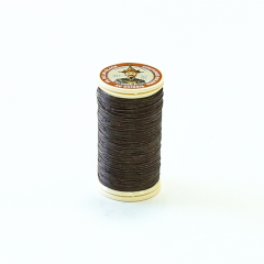 Fil Au Chinois Waxed Linen Thread #195 Dark-Brown 0.45mmx30m