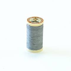 Fil Au Chinois Waxed Linen Thread #115 Pale-Grey 0.45mmx30mm