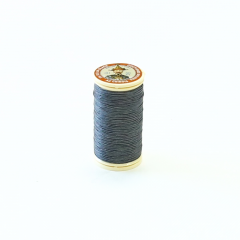 Fil Au Chinois Waxed Linen Thread #155 Dark-Grey 0.45mmx30m