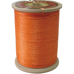 Fil Au Chinois Waxed Linen Thread 332 82#419 Orange 0.77mmX133M