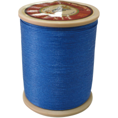 Fil Au Chinois Waxed Linen Thread 332 7#665 Royal-Blue 0.77mmX133M