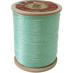 Fil Au Chinois Waxed Linen Thread 332 95#448 Jade 0.77mmX133M