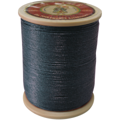 Fil Au Chinois Waxed Linen Thread 332 74#812 Navy-Blue 0.77mmX133M