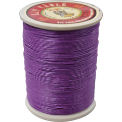 Fil Au Chinois Waxed Linen Thread 332 62#218 Violet 0.77mmX133M